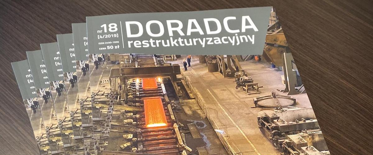 Nowa publikacja wspólników Kancelarii Marcina Kubiczka i Jakuba Michalaka dotycząca wyceny przedsiębiorstwa dla celów upadłościowych (w tym pre-pack)