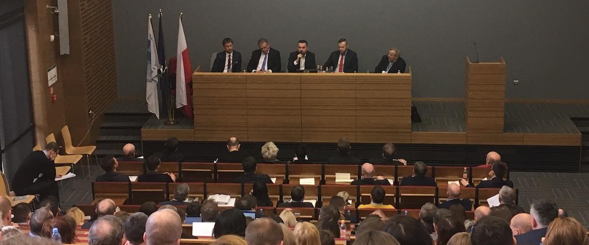"""Panel dyskusyjny """"5 spojrzeń na prepack"""" podczas szkolenia organizowanego przez Okręgową Izbę Doradców Restrukturyzacyjnych w Krakowie"""