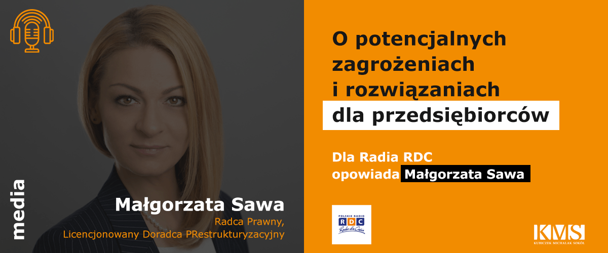 Mec. Małgorzata Sawa gościem Polskiego Radia RDC