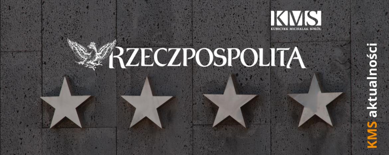III miejsce w Rankingu Kancelarii Prawnych Rzeczpospolitej (kategoria: nowe prawo)